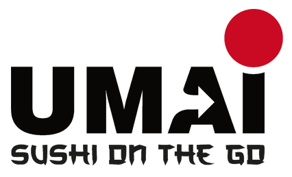 Logo Umai Sushi on the go